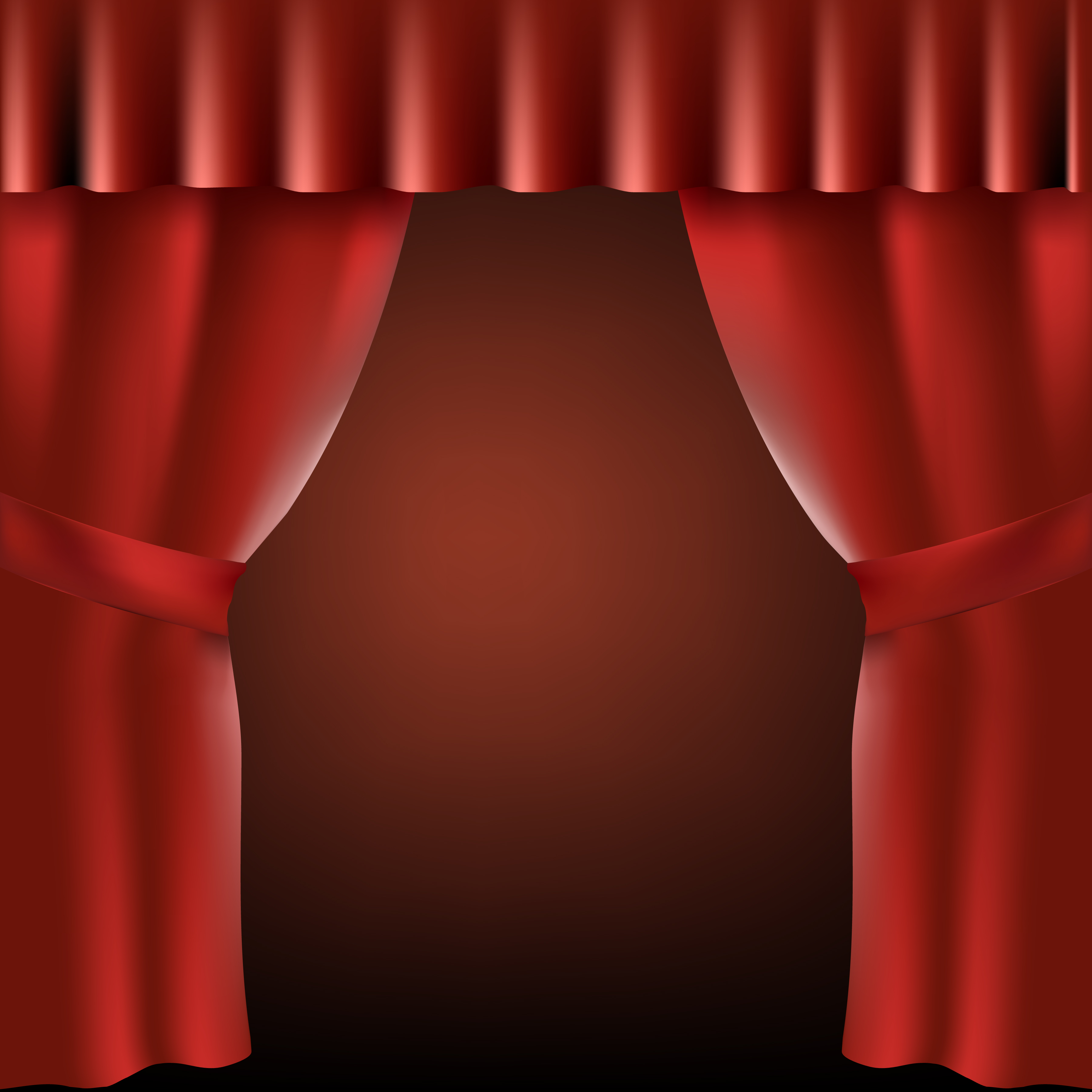 How To Draw Stage Curtains Step By Gopelling Net