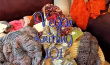 Vegan Knitting is Here (NEW VIDEO!)
