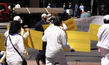 Demonstrations as Street Theatre