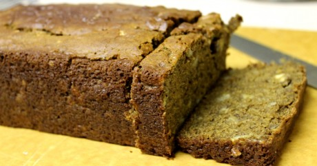 Vegan Cinnamon and Walnut Banana Bread by JL Fields