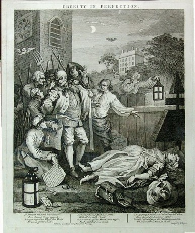 """""""Cruelty in Perfection"""" by William Hogarth"""