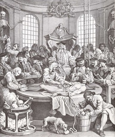 """The Reward of Cruelty"" by William Hogarth"