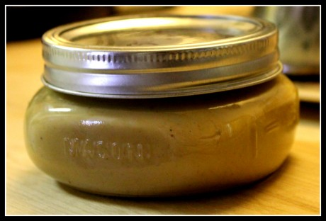 Store Curry Peanut Butter in airtight jar