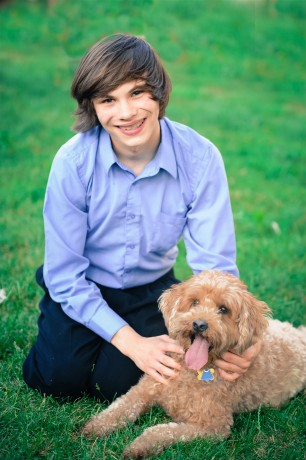 Andrew Puccetti (with Max)