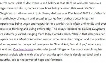 Carrie On Vegan: Defiant Daughters Book Review