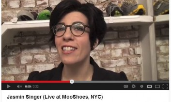 Lantern Media: Jasmin Singer (Live at Mooshoes, NYC)