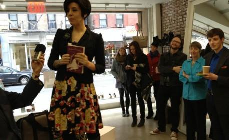 """The Art of Defiance"": Ellen Kanner Interviews Jasmin Singer (PART I)"