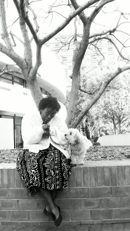 Brigitte & Nubia, as reported on the blog for My Dog is My Home