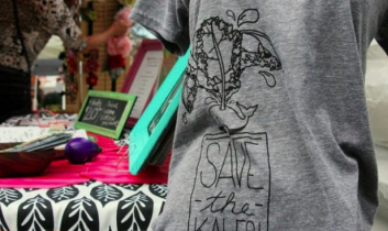 """FLOCK ONLY: """"Save the Kales!"""" T-shirt & DVD Giveaway, Plus More from Jaime Karpovich"""