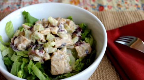 JL's protein of choice lately -- Beyond Meat. (Recipe below.)