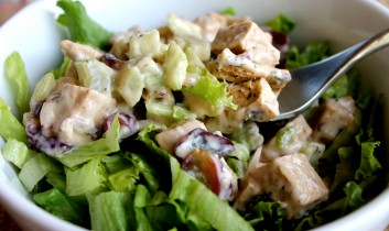 Protein in Vegan Diets: Take Advantage of the Options (BONUS RECIPE: Grape and Brazil Nut Chicken-Less Salad)