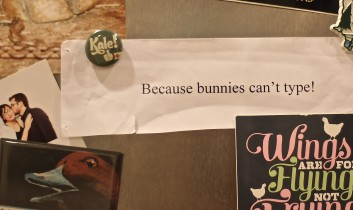 """Because Bunnies Can't Type: How I Answer """"Why Vegan?"""" with My Heart (Not My Head)"""