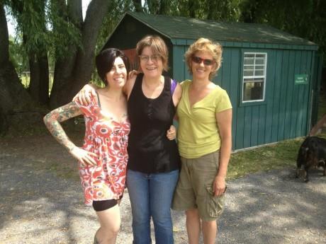 Me, Mariann, Kathy