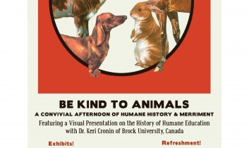 Cartoons and the Timelessness of Animal Activism: A Convivial Afternoon of Humane History & Merriment