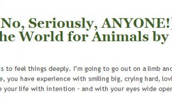 Vegan for Her: Anyone (No, Seriously, ANYONE!) Can Change the World for Animals by Jasmin Singer
