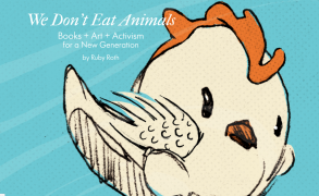 """Book Review: """"V is for Vegan: The ABCs of Being Kind"""" by Ruby Roth"""