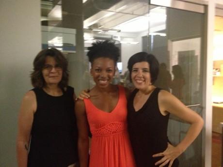 Mariann, Jenné, and me