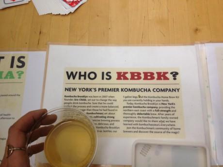 I had my share of Kombucha Brooklyn, too. Love that stuff.