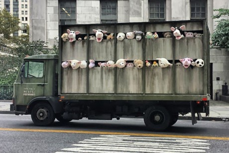 """Sirens of the Lambs"" by Banksy"