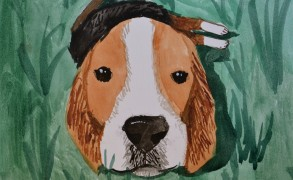 Painting For A Good Cause: Kids Against Lab Beagles