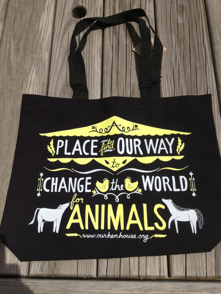 "Flock Only: Tote Bag Giveaway, Run-Down of Animal Rights Opportunities, Preview of ""A Piggy's Tale"" & Tomorrow's Podcast"