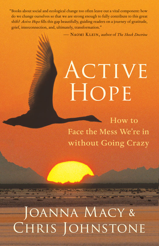 """Book Review: """"Active Hope: How to Face the Mess We're in without Going Crazy"""" by Joanna Macy and Chris Johnstone"""