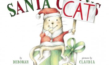 "Book Review: ""Here Comes Santa Cat"" by Deborah Underwood (Pictures by Claudia Rueda) — Plus a GIVEAWAY for the FLOCK!"