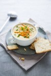 """Time for Some Chowder from the New Edition of """"The 30-Day Vegan Challenge!"""" Plus a Bonus Giveaway (for the Flock)"""