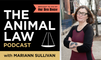 Animal Law Podcast #15: Enforcing the Animal Welfare Act with Delcianna Winders