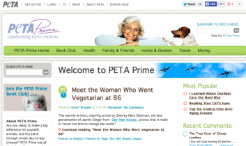 """""""Meet the Woman Who Went Vegetarian at 86"""" from PETA Prime"""