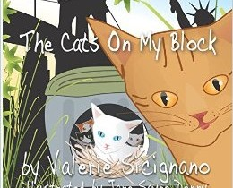 Book Review: The Cats on My Block by Valerie Sicignano, Illustrated by Jane Sayre Denny