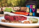 "Recipe: Beet Burgers, from ""Eat Like You Give a Damn"" (With a Bonus Giveaway for the Flock)"