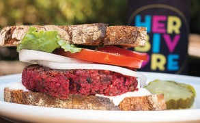 """Recipe: Beet Burgers, from """"Eat Like You Give a Damn"""" (With a Bonus Giveaway for the Flock)"""