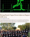 """""""Strong Hearts Vegan Power takes on Ragnar ADK 2015"""" from Ellie Slices Bagels"""