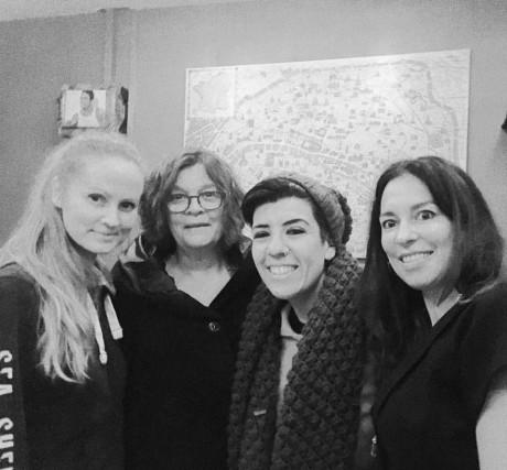 Jenny Luc, Mariann, Jasmin, Aurelia D'Andrea