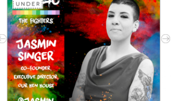 """Activist Profile: Jasmin Singer"" – Radio Interview by AnimalVoices.org"