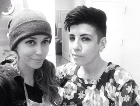 Chef Laura and Jasmin