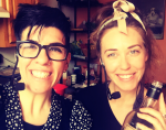 Episode 6: Chef Laura Delhauer in Her Own Kitchen — with your Hostess, Jasmin Singer!