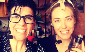 Episode 9: Everything's Green with Chef Laura Delhauer and Your Hostess, Jasmin Singer!
