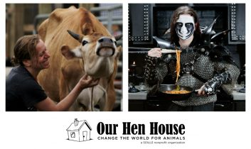 Episode 353: Author and Film Studies Professor Anat Pick, and Vegan Black Metal Chef!
