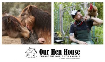 Episode 354: Author and Activist Ren Hurst, and Michael Harren and The Animal Show!