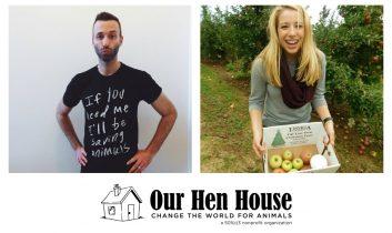 Episode 360: Ari Solomon of Mercy for Animals, and Brianna Krejchi of the Penn Vegan Society