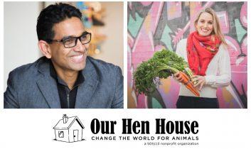 Episode 359: Uma Valeti of Memphis Meats, and Pamela Fergusson, Vegan RD