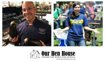 Episode 367: Eddie Garza, Senior Manager of Food & Nutrition at HSUS, and Katie Cantrell, Executive Director of the FFAC