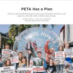 """PETA Has a Plan"" from Racked"