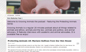 "Mariann Sullivan from Our Hen House — ""Knowing Animals Podcast"""