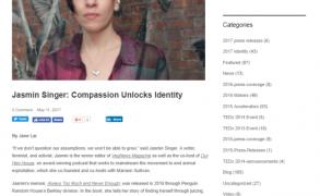 "Jasmin Singer: Compassion Unlocks Identity from ""TEDx Asbury Park"""