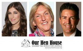 Episode 396: Mayim Bialik, Ingrid Newkirk, & Wayne Pacelle!