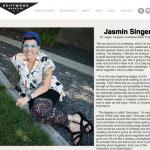 """""""Jasmin Singer"""" from DriftWood Magazine"""