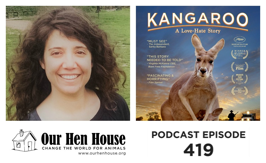 "Episode 419: The Scientist who Loves Fish and the Filmmakers Behind ""Kangaroo"""